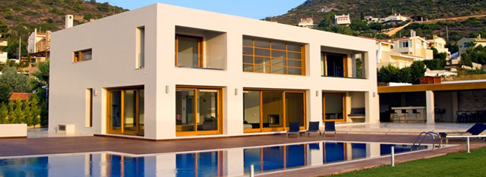 Luxury villas for sale and rent in Greece
