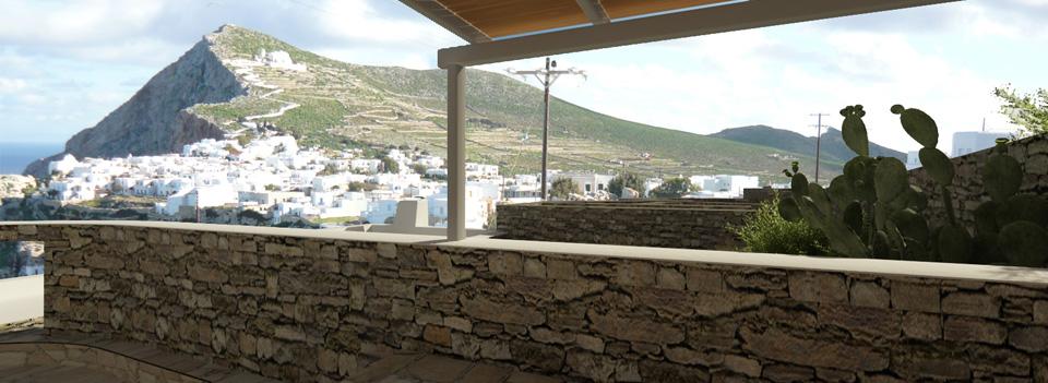 Загородные коттеджи и виллы на Кикладских и Ионических островах
